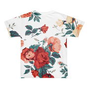 Basquiat Floral Roses All Over Print T-shirt Devious Elements Apparel Basquiat Floral Roses All Over Print T-shirt Basquiat Floral Roses All Over Print T-shirt - Devious Elements Apparel