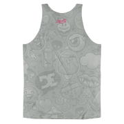 Loyalty Tattooed Ariel Mermaid All Over Print Unisex Tank - Devious Elements Apparel