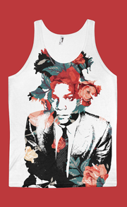 Basquiat Floral All-Over-Print Unisex Tank - Devious Elements Apparel