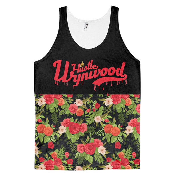 Hustle Wynwood Roses & Lillies All-Over-Print Black Tank Hustle Wynwood Tank Hustle Wynwood Roses & Lillies All-Over-Print Black Tank Hustle Wynwood Roses & Lillies All-Over-Print Black Tank - Devious Elements Apparel