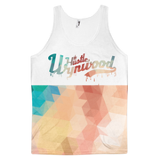 Hustle Wynwood Native Pattern All-Over-Print White Tank Hustle Wynwood Tank Hustle Wynwood Native Pattern All-Over-Print White Tank Hustle Wynwood Native Pattern All-Over-Print White Tank - Devious Elements Apparel