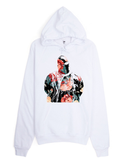 Biggie Floral Pullover Hoodie - Devious Elements Apparel