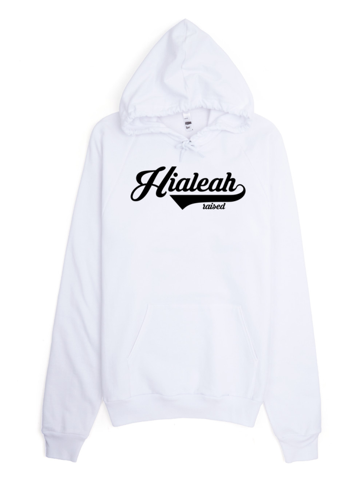 Hialeah Raised Classic Pullover Unisex Hoodie - Devious Elements Apparel