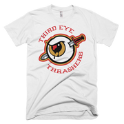 Third Eye Thrashers Classic Red Logo Crew Third Eye Thrashers Shirt Third Eye Thrashers Classic Red Logo Crew Third Eye Thrashers Classic Red Logo Crew - Devious Elements Apparel