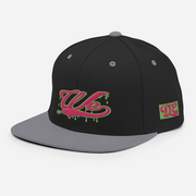 We Drippin Pink & Green Snapback Devious Elements Apparel hat We Drippin Pink & Green Snapback We Drippin Pink & Green Snapback - Devious Elements Apparel