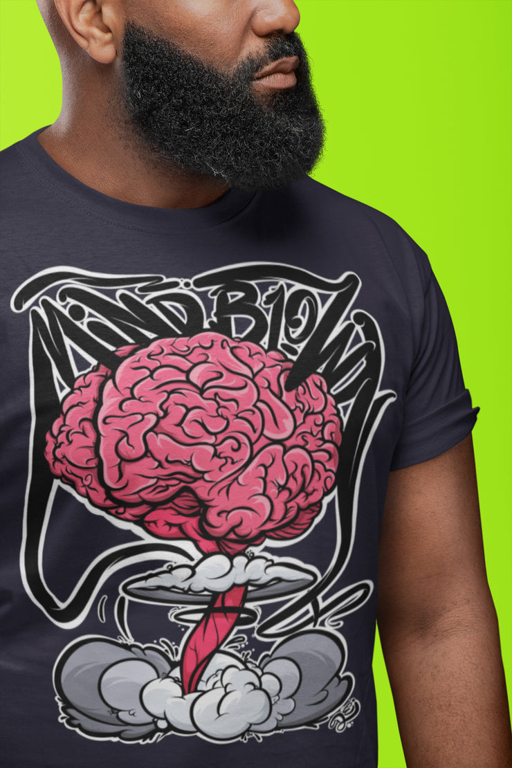 Mind Blown Explosion Crew Unisex T-shirt