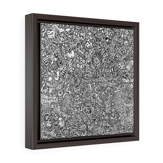 Devious Doodles Square Framed Premium Gallery Wrap Canvas Devious Elements Apparel Canvas Devious Doodles Square Framed Premium Gallery Wrap Canvas Devious Doodles Square Framed Premium Gallery Wrap Canvas - Devious Elements Apparel