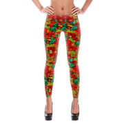 Gummy Bears Print Leggings - Devious Elements Apparel