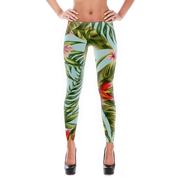 Tropical Floral Pattern Print Leggings Devious Elements Apparel Leggings Tropical Floral Pattern Print Leggings Tropical Floral Pattern Print Leggings - Devious Elements Apparel