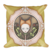 La Infancia Square Print Pillow - Devious Elements Apparel