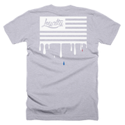 Loyalty American Flag Front & Back Print Crew T-shirt - Devious Elements Apparel