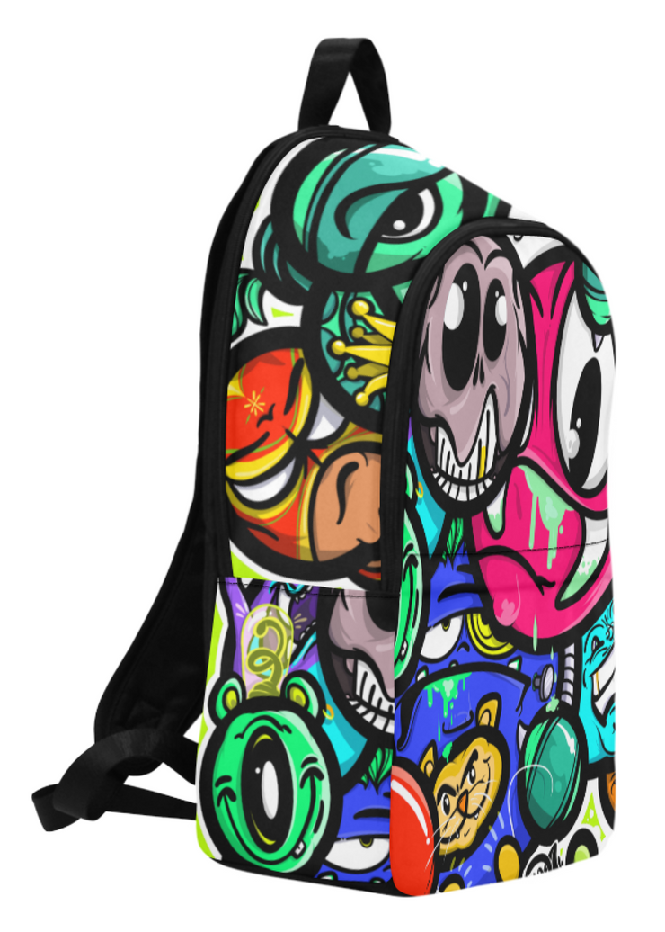 Devious Mugs Print Laptop Backpack Devious Elements Apparel Back Pack Devious Mugs Print Laptop Backpack Devious Mugs Print Laptop Backpack - Devious Elements Apparel