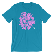 Pink Elephants Unisex Graphic Crew T-shirt - Devious Elements Apparel