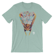 Loki Helmet Graphic Crew T-shirt - Devious Elements Apparel