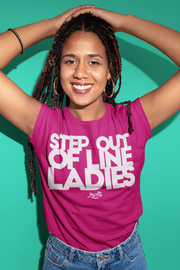 Step Out Of Line Ladies Crew Unisex T-shirt Loyalty Shirt Step Out Of Line Ladies Crew Unisex T-shirt Step Out Of Line Ladies Crew Unisex T-shirt - Devious Elements Apparel