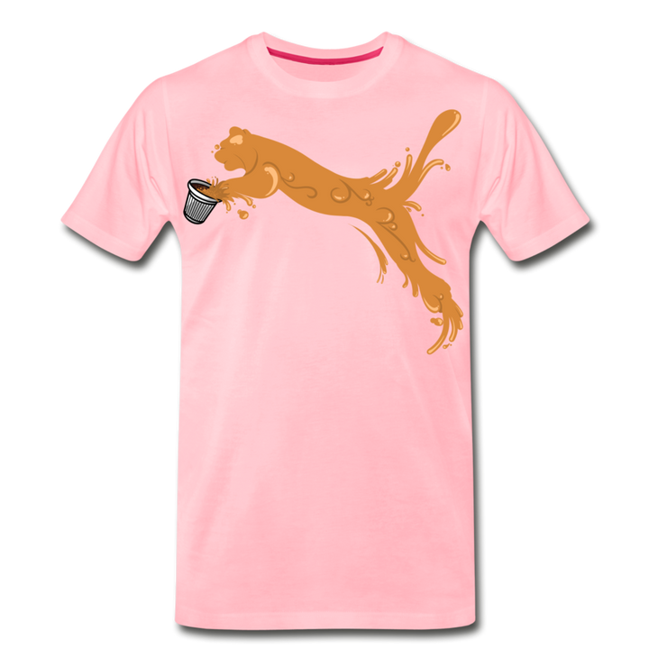 Espuma Cup Splash Men's Premium T-Shirt - pink