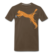 Espuma Cup Splash Men's Premium T-Shirt - noble brown