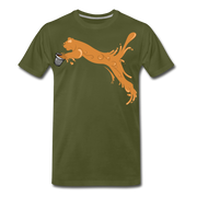 Espuma Cup Splash Men's Premium T-Shirt - olive green
