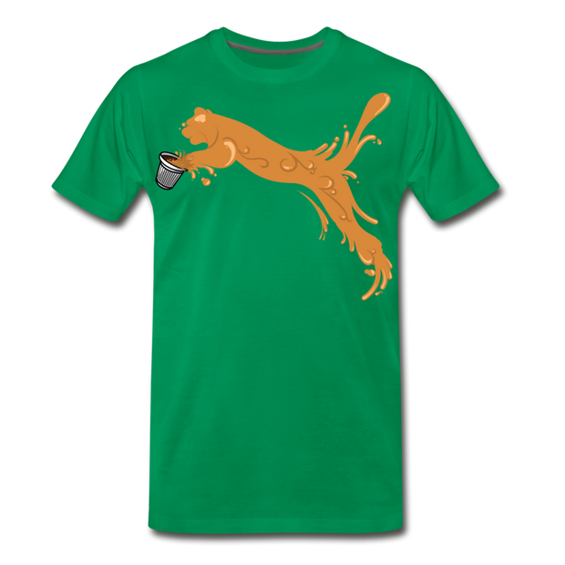 Espuma Cup Splash Men's Premium T-Shirt - kelly green