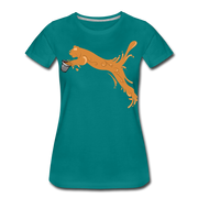 Espuma Cup Splash Women's Premium T-Shirt - teal
