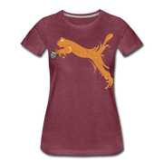 Espuma Cup Splash Women's Premium T-Shirt - heather burgundy