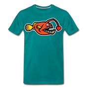 Love Chaser Men's Premium Cut Crew T-Shirt - teal