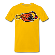 Love Chaser Men's Premium Cut Crew T-Shirt - sun yellow