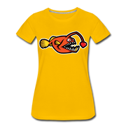 Love Chaser Women's Premium Cut Crew T-Shirt - sun yellow