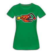Love Chaser Women's Premium Cut Crew T-Shirt - kelly green