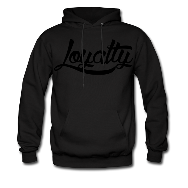 Loyalty Classic BLK Logo Pullover Hoodie - black