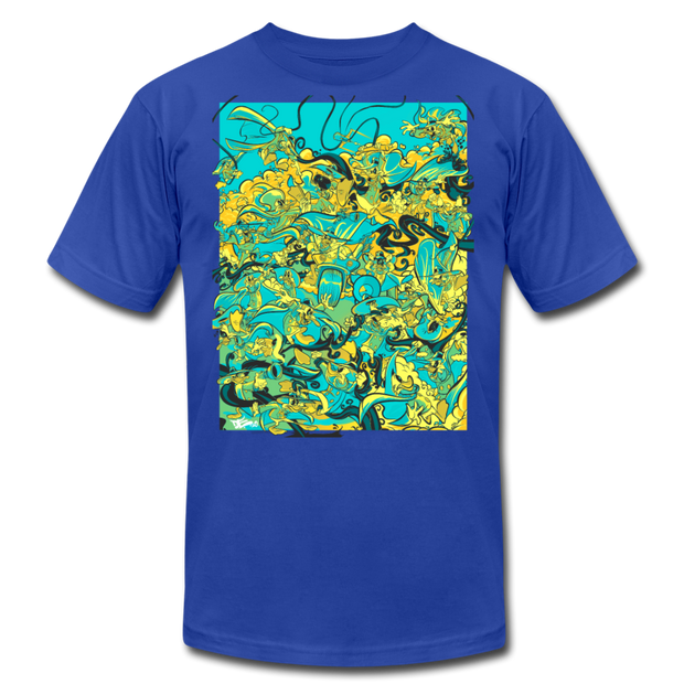 Retro Duck Battle Fresco Unisex Crew Devious Elements Apparel Shirt Retro Duck Battle Fresco Unisex Crew Retro Duck Battle Fresco Unisex Crew - Devious Elements Apparel