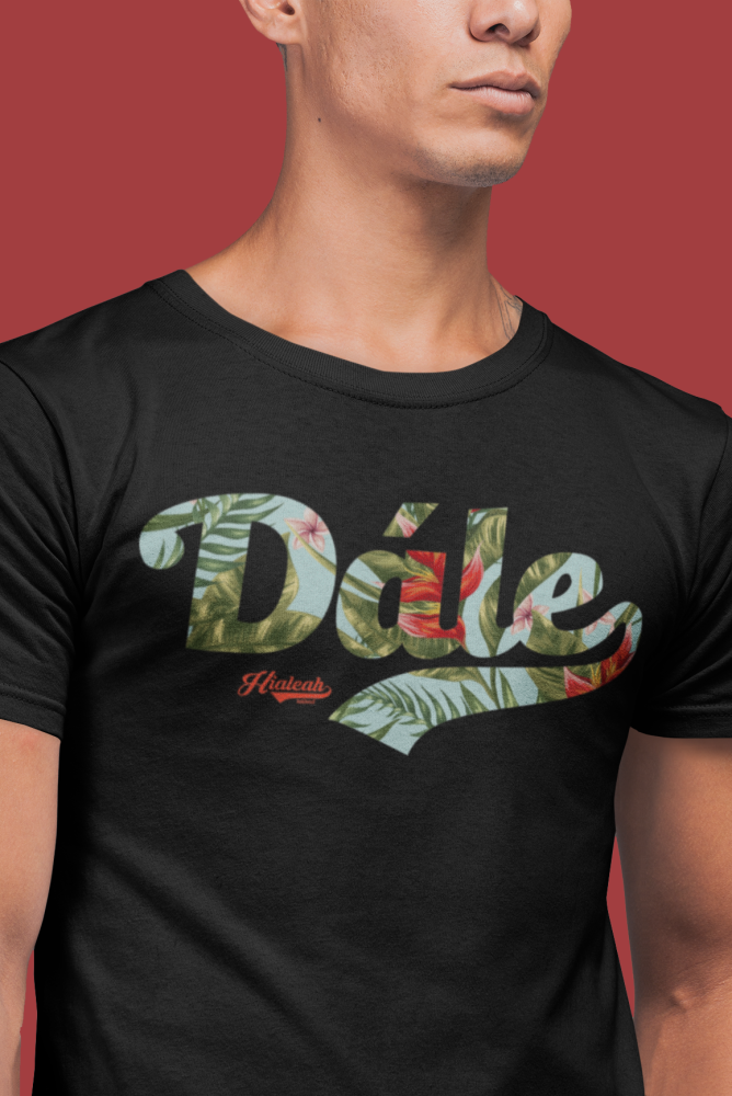 Hialeah Raised Dále Tropical Floral Crew - Devious Elements Apparel