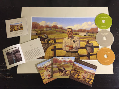 Celebrating Wendell Berry in Music <BR> Volumes 1 & 2 Bundle with Limited Edition Poster