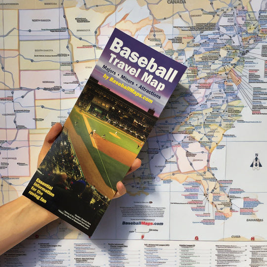 WE SELL DREAMS! The 2018 Baseball Travel Map is available right now!