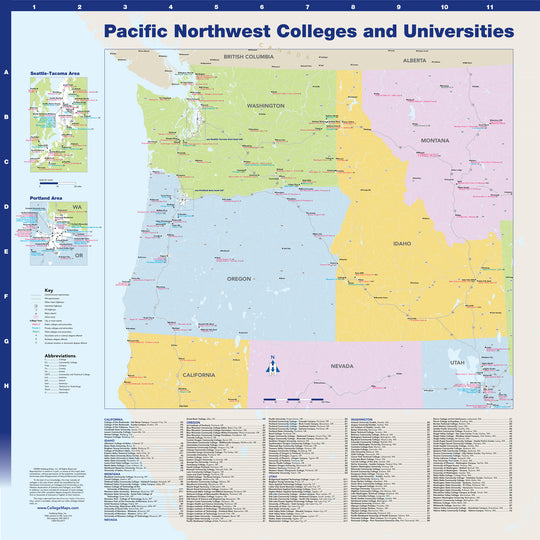 Pacific Northwest Colleges and Universities