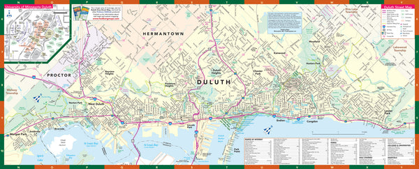 Duluth Minnesota - North Shore - Downtown - UMD