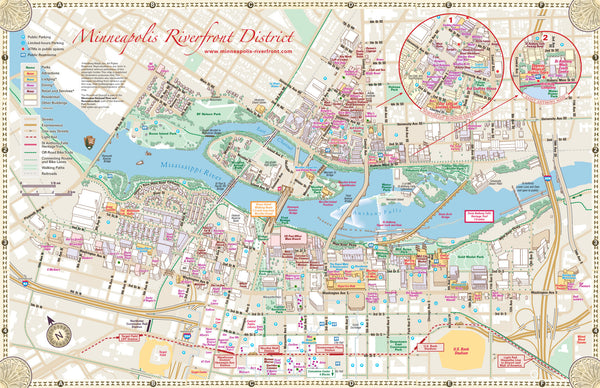WallPoster Sized Hedberg Group - Wall map of us colleges and universities
