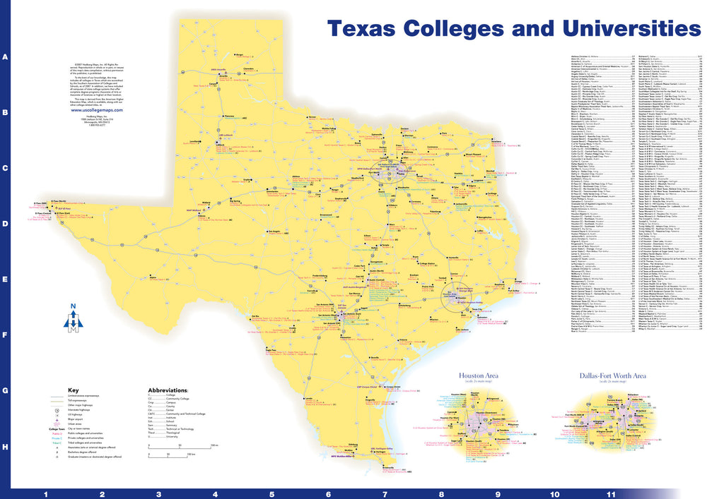 Texas Colleges and Universities