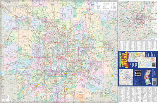 Twin Cities SuperMap (Minneapolis-St Paul)