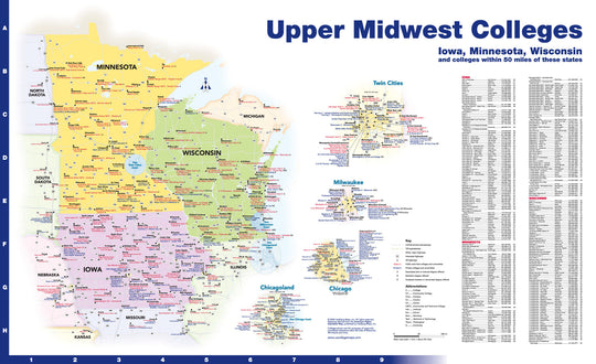 Upper Midwest Colleges and Universities