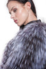 Real fox fur jacket