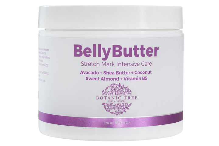 Belly Butter for Pregnancy-Anti Stretch Marks Butter for Before, During and After Pregnancy- 100% Cruelty Free