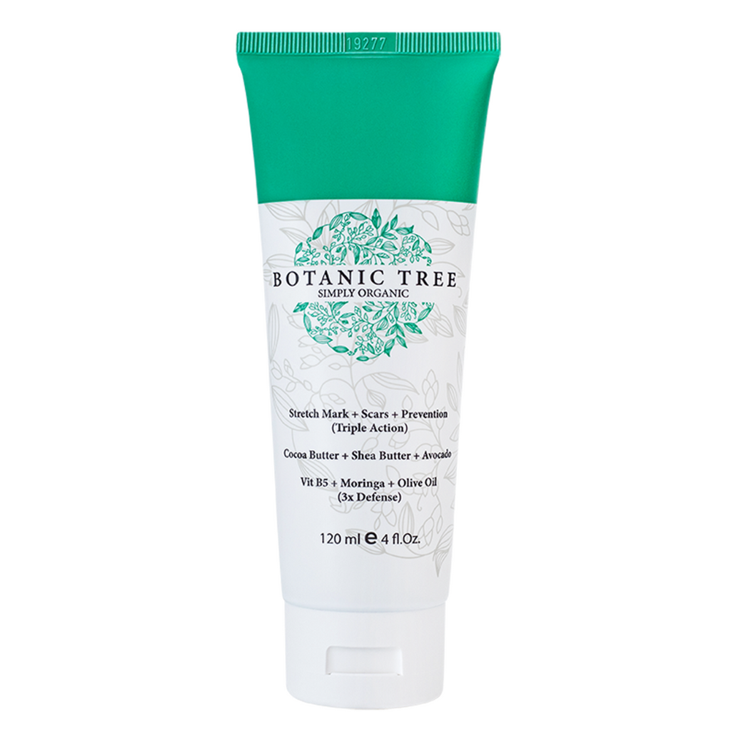 Anti Stretch Mark Scars And Prevention Cream Botanic Tree Organic