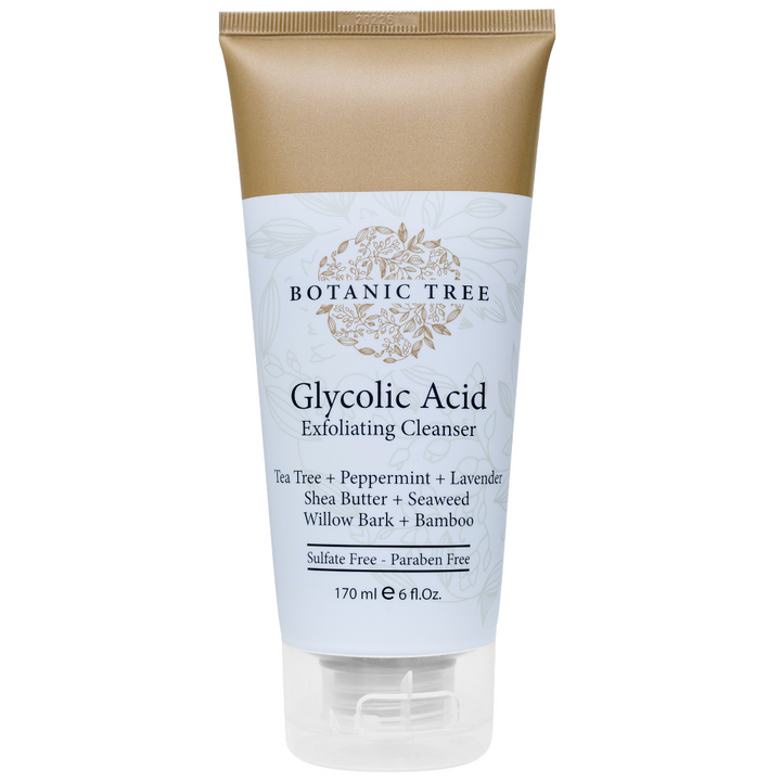 Glycolic Acid Exfoliating Facial Cleanser 6 OZ w/10% Glycolic Acid- 100% Cruelty Free