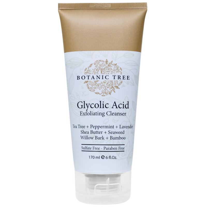 Glycolic Acid Exfoliating Facial Cleanser 6 OZ w/10% Glycolic Acid