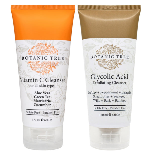 Double Cleanser Glycolic Acid And Vitamin C Cleanser-100% Cruelty Free