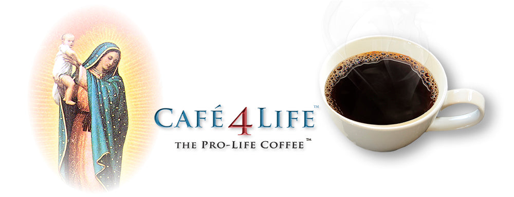 Cafe 4 Life, Cafe for Life, Support Judie Brown, Abbey Roast Coffee