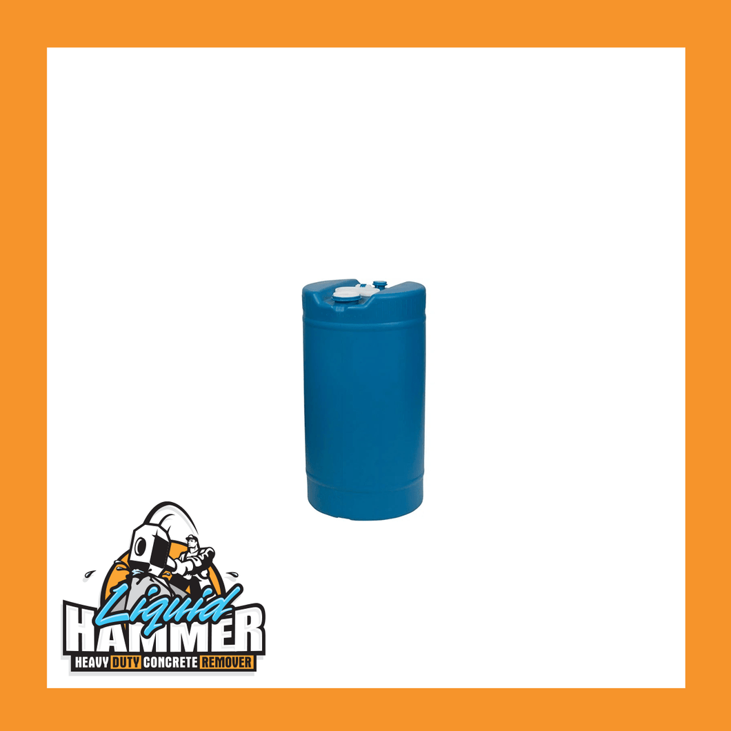 Liquid Hammer Drum, 15 Gallon - Liquid Hammer