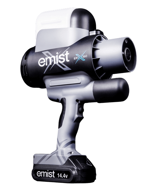 eMist Epix360 Disinfectant Hand-Held Electrostatic Sprayer - Liquid Hammer