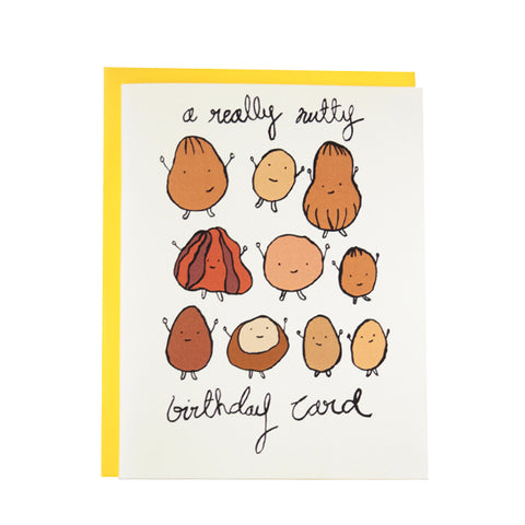 A Really Nutty Birthday Card